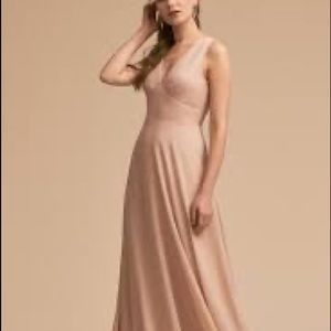 Anthropologie BHLDN capulet bridesmaid dress